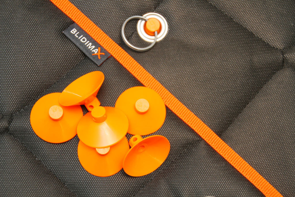 suction cups are now available in orange
